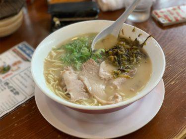 【武蔵ラーメン】荒尾・大牟田にある強めの香りがクセになる一杯が美味しい!