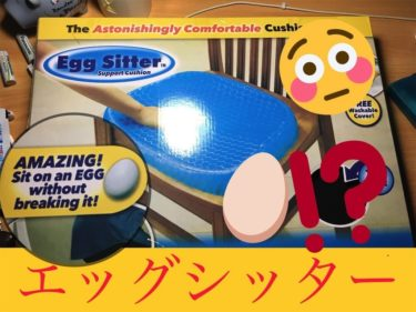 【エッグシッター】正規品の口コミレビュー紹介!ブルーマジックとの違いは?腰痛改善した卵が割れないおすすめクッション!