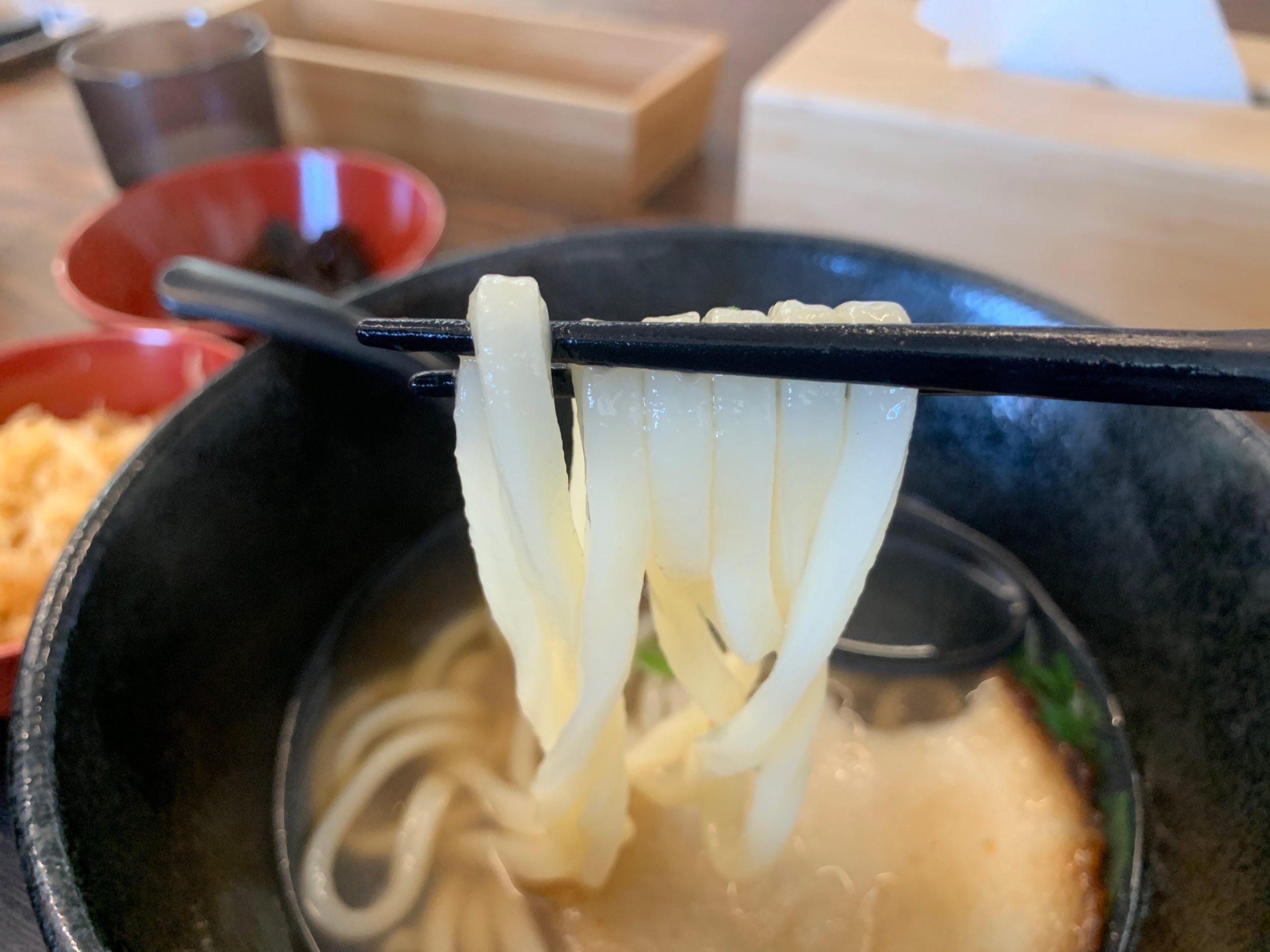 UDON'TSTOP華のうどん麺