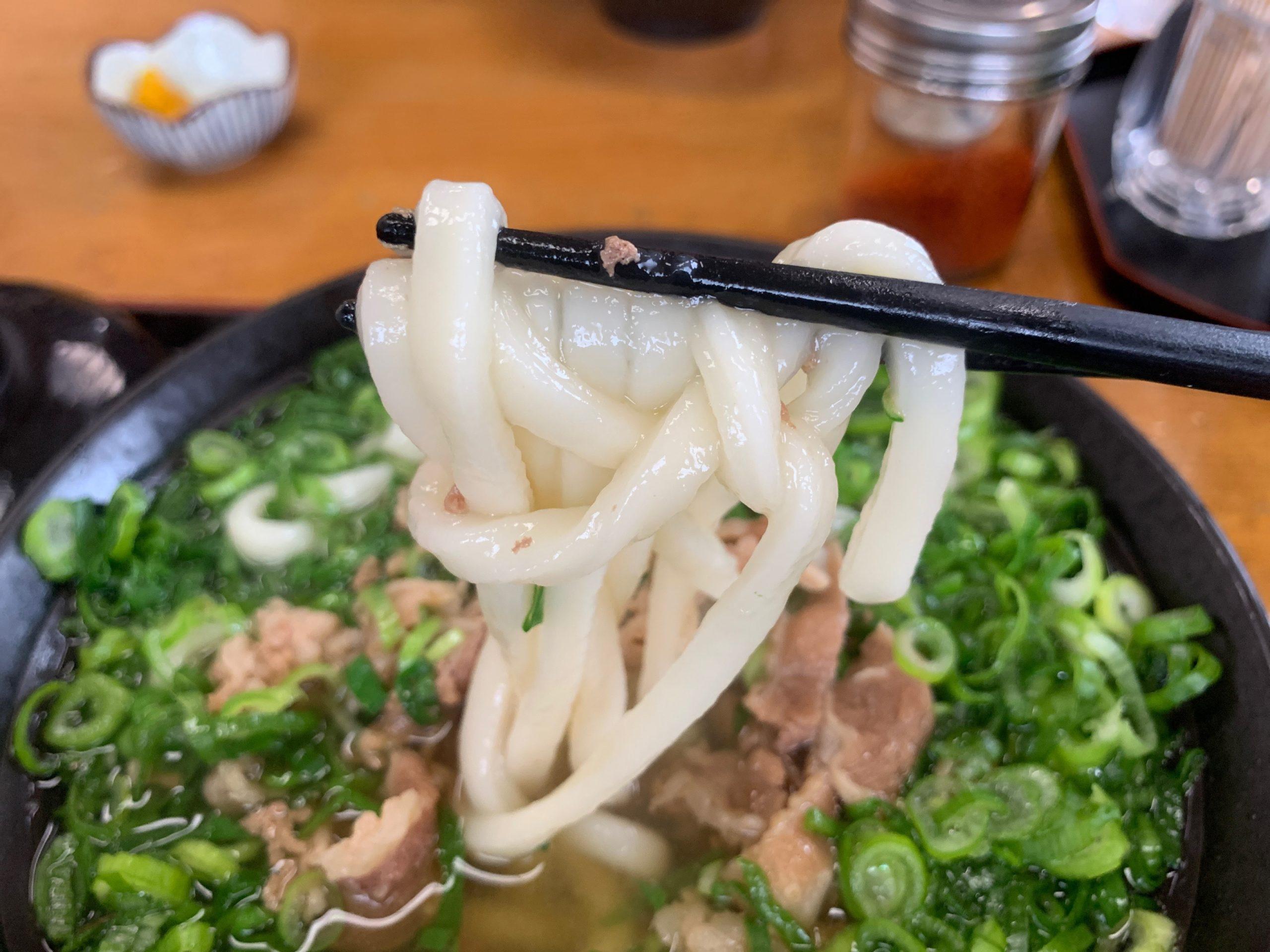 太昌うどんのうどん麺