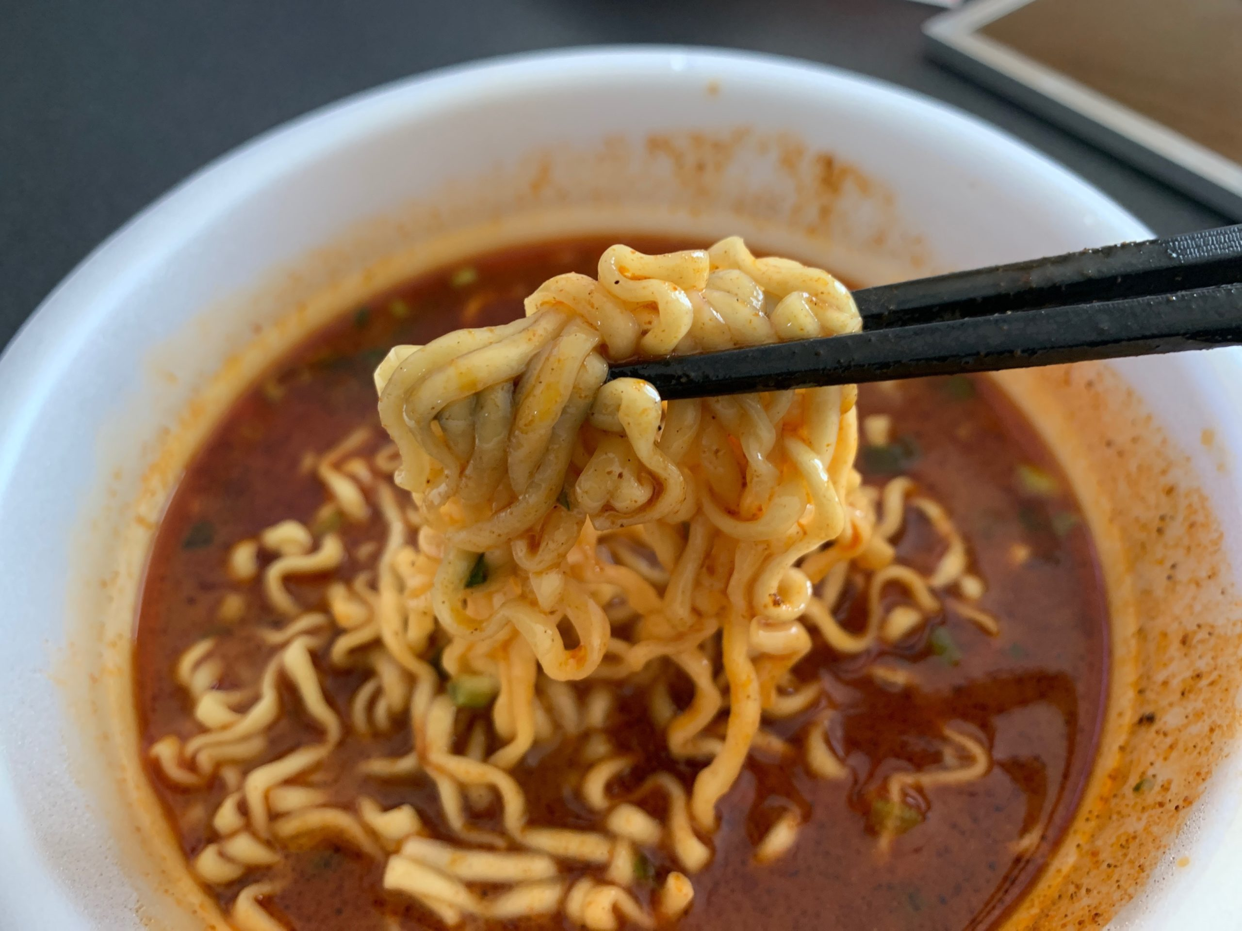 辛辛魚の麺