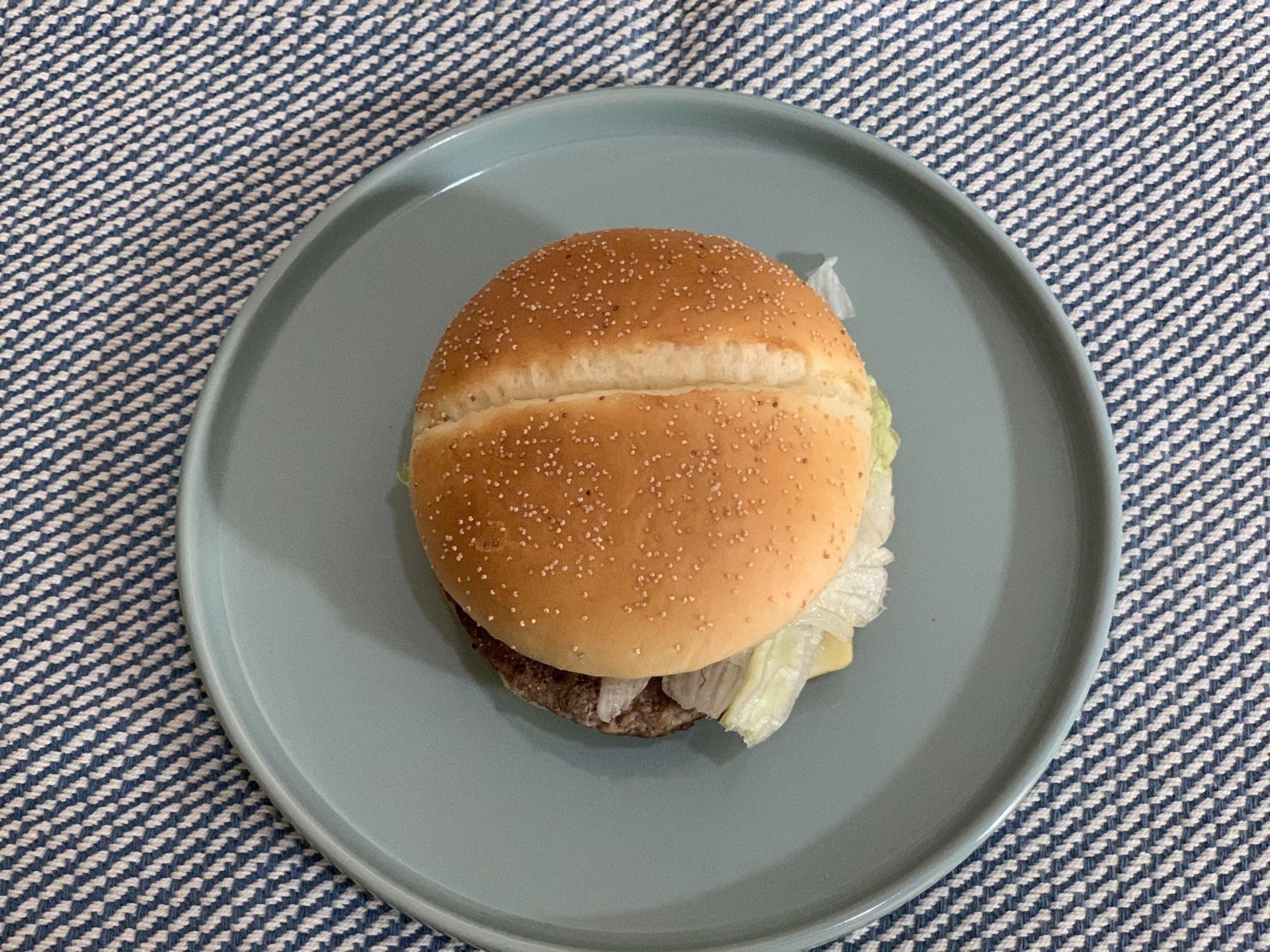炙り醤油風ベーコントマト肉厚ビーフ