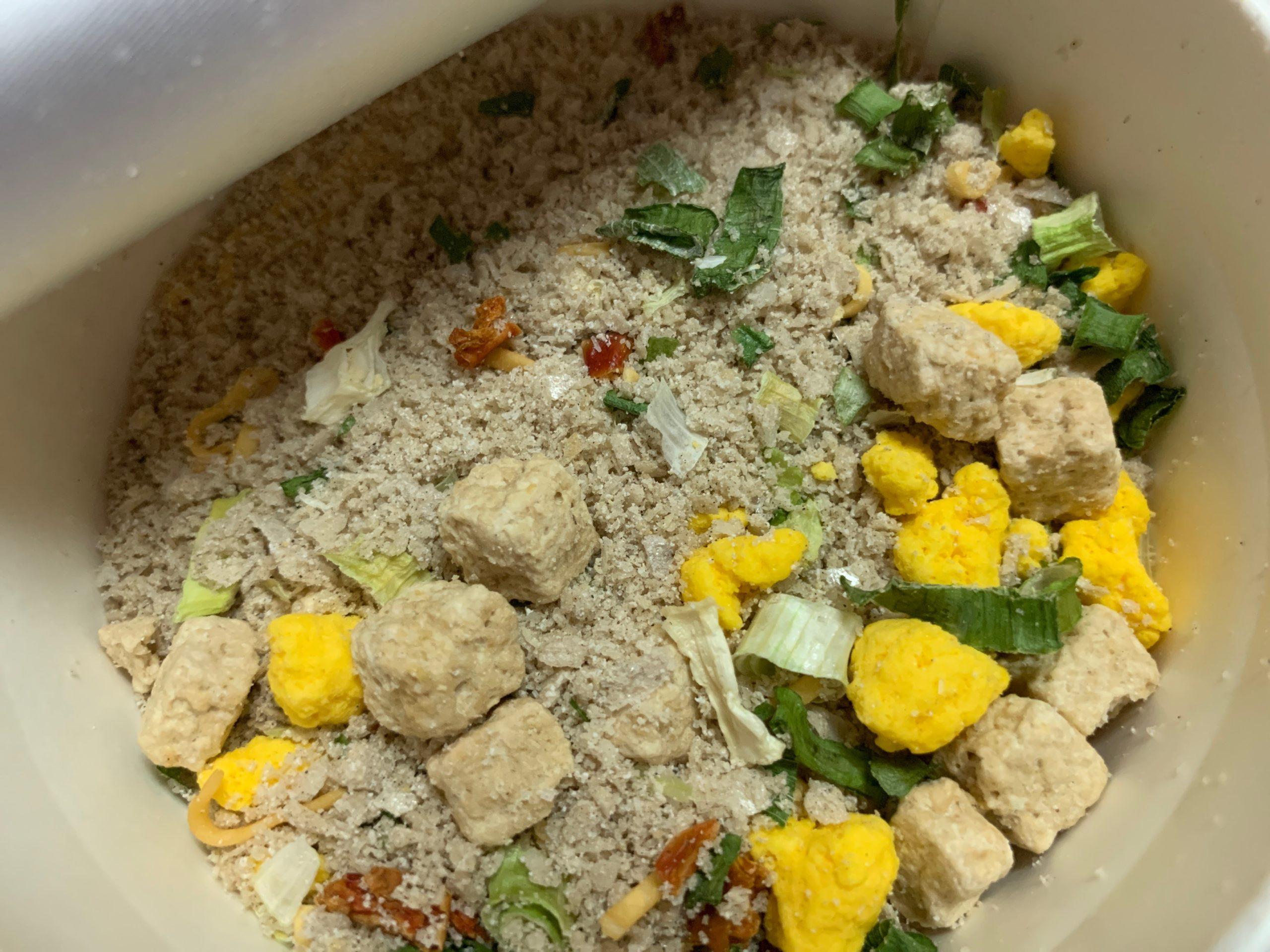カップヌードル鶏白湯の中身