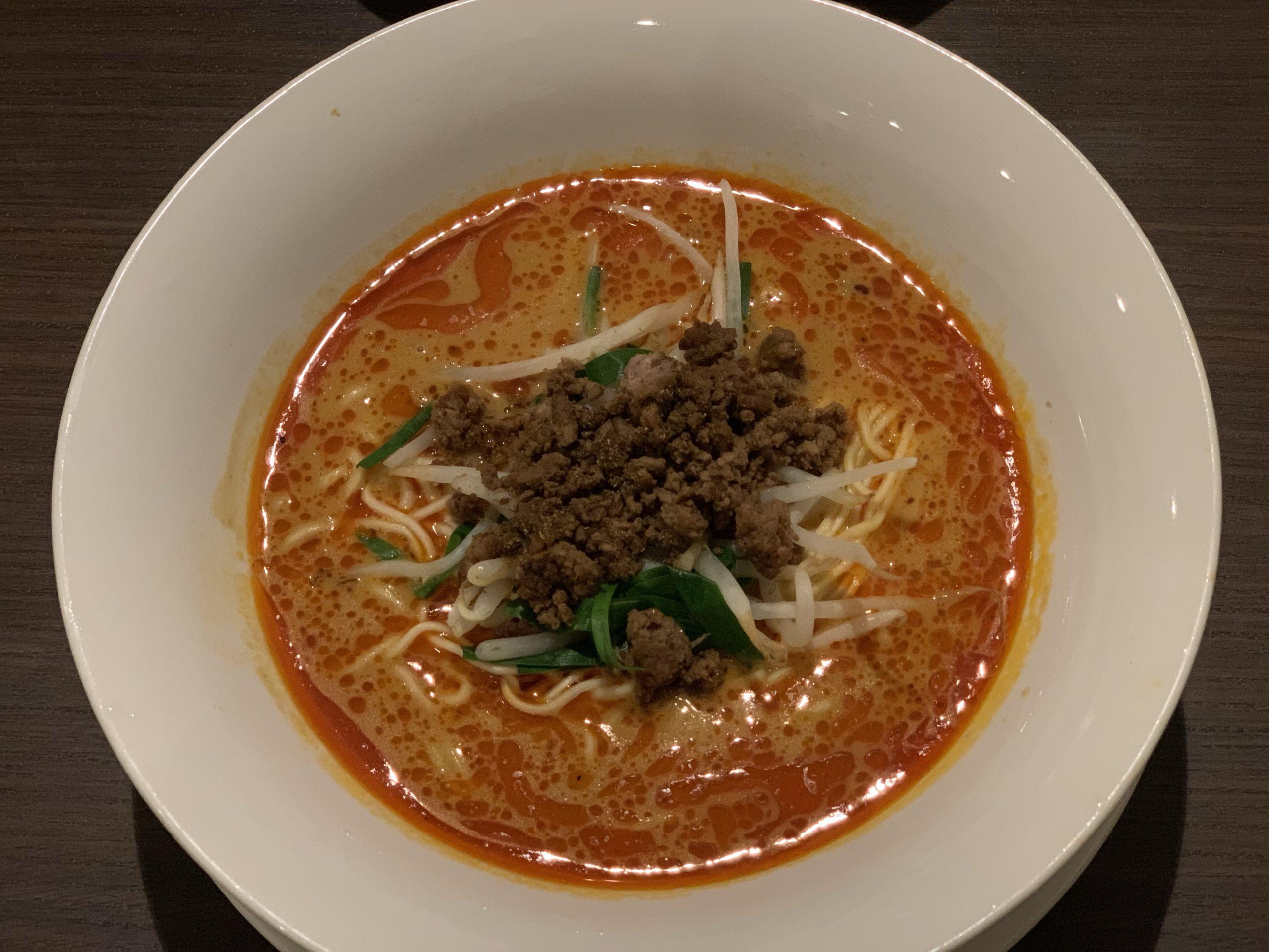 真心(shinshin)の坦々麺