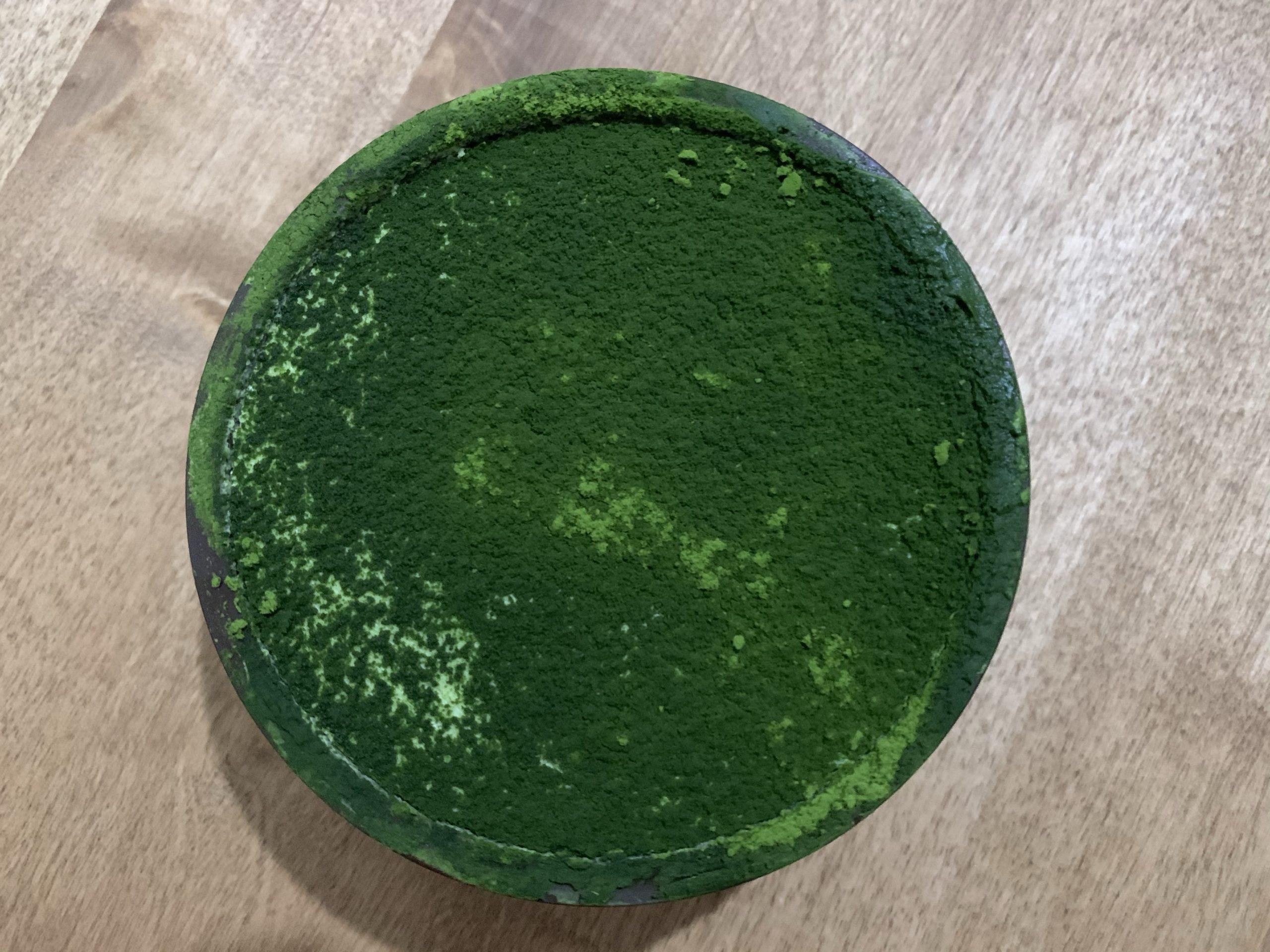お茶村本店の抹茶ティラミス
