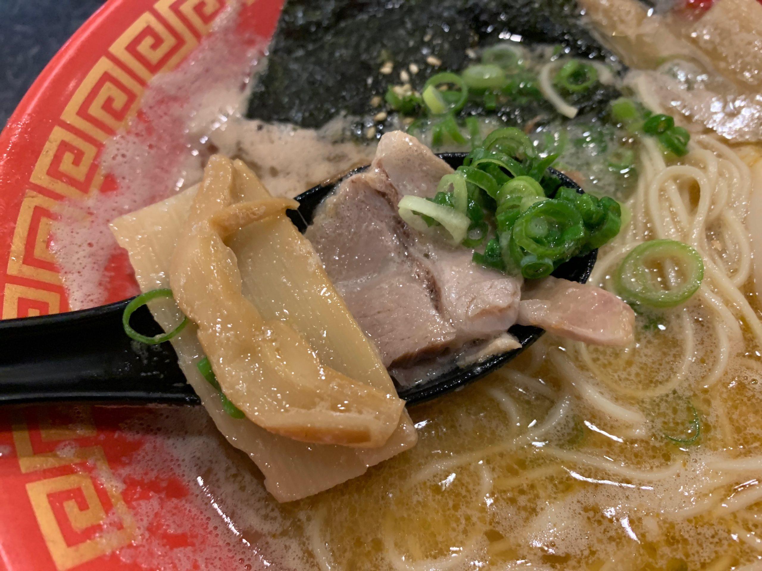 拉麺帝国本店のトッピング