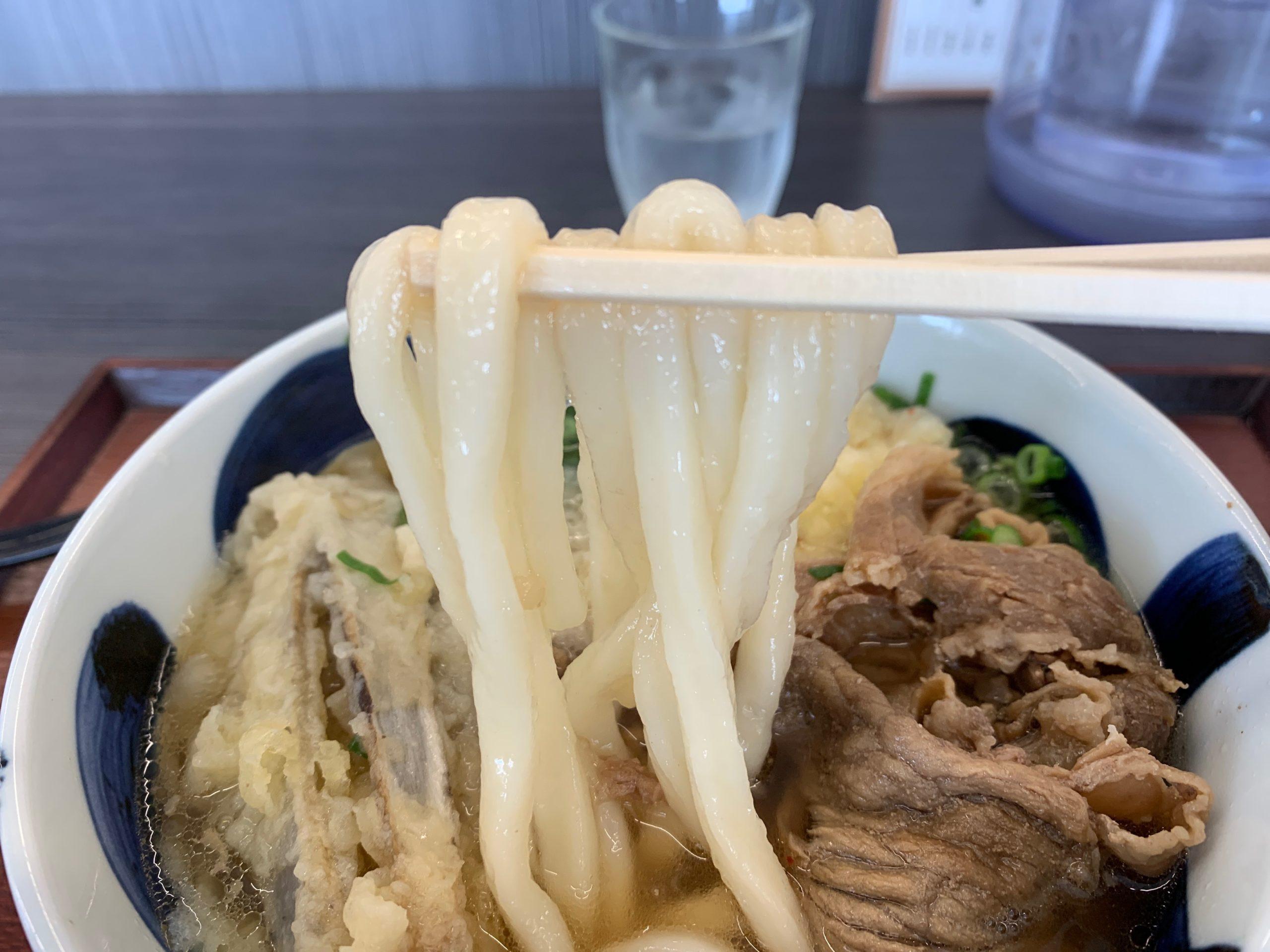 華新うどんのうどん麺