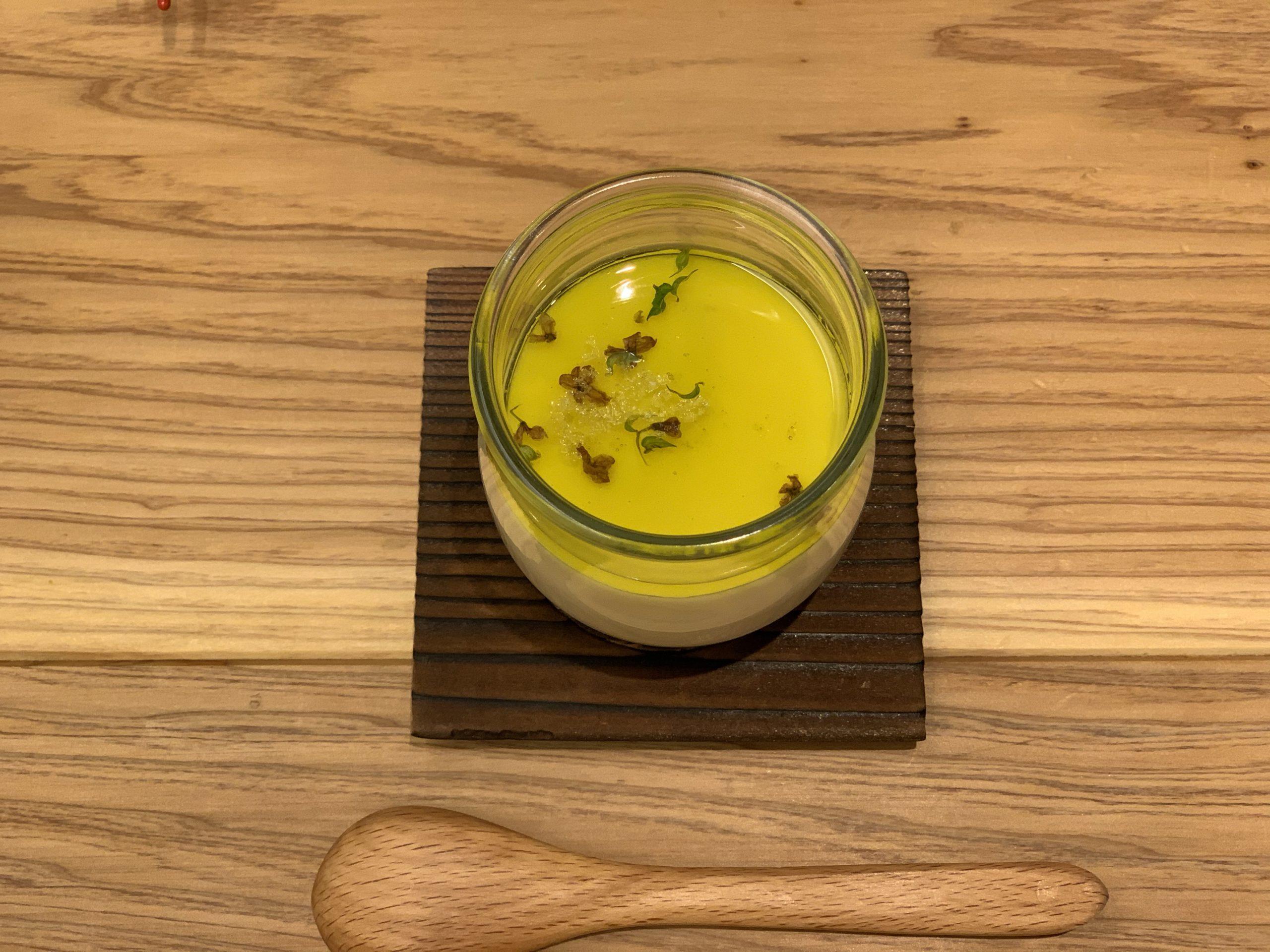 オリーブオイルの茶碗蒸し