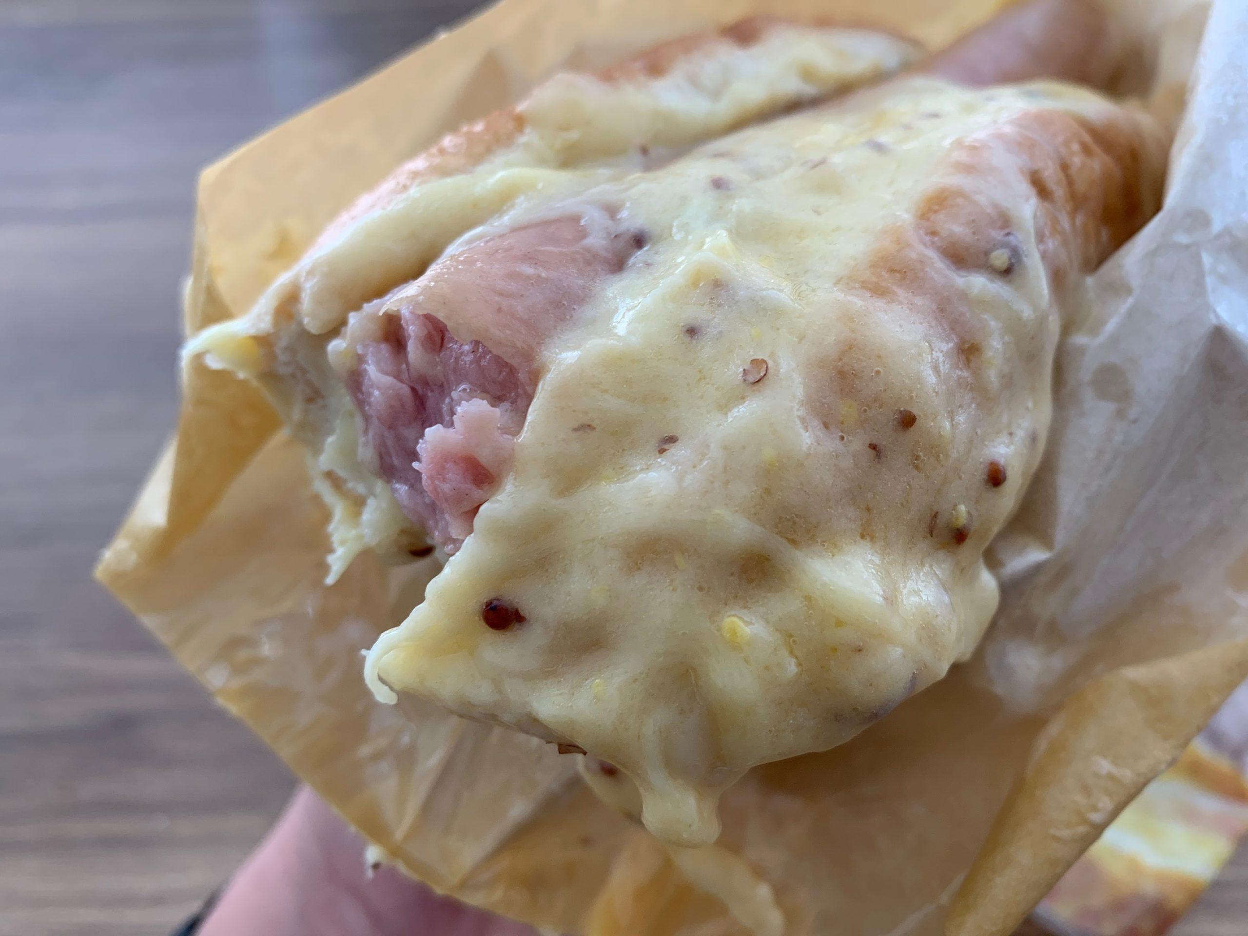 チーズチーズチーズの断面