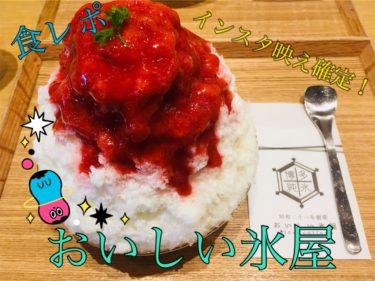 【おいしい氷屋】福岡天神の夏はインスタ映えなかき氷で決まり!