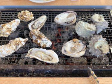 【かき焼き処 貝鮮丸】柳川市の冬は牡蠣小屋の新鮮な海の幸で乾杯!