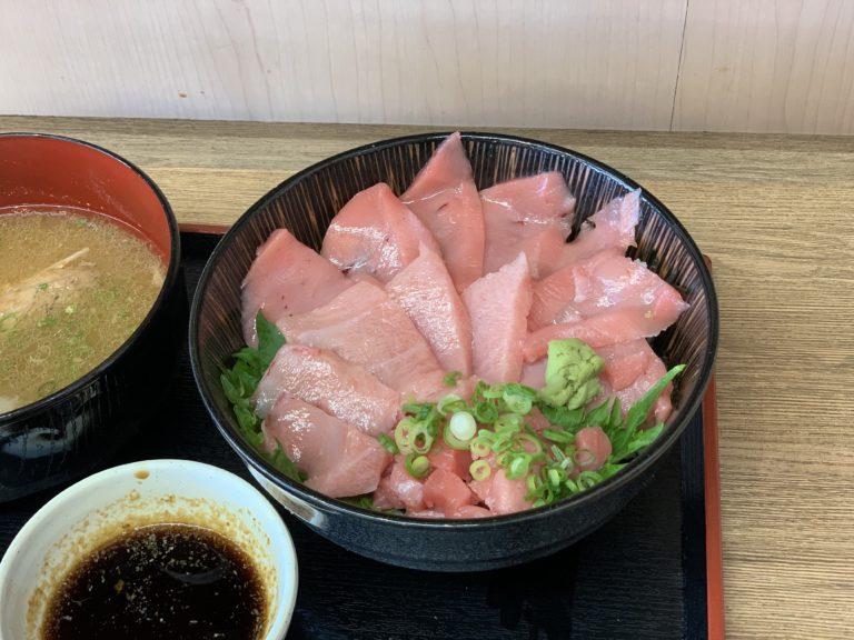 博多豊一のマグロ丼
