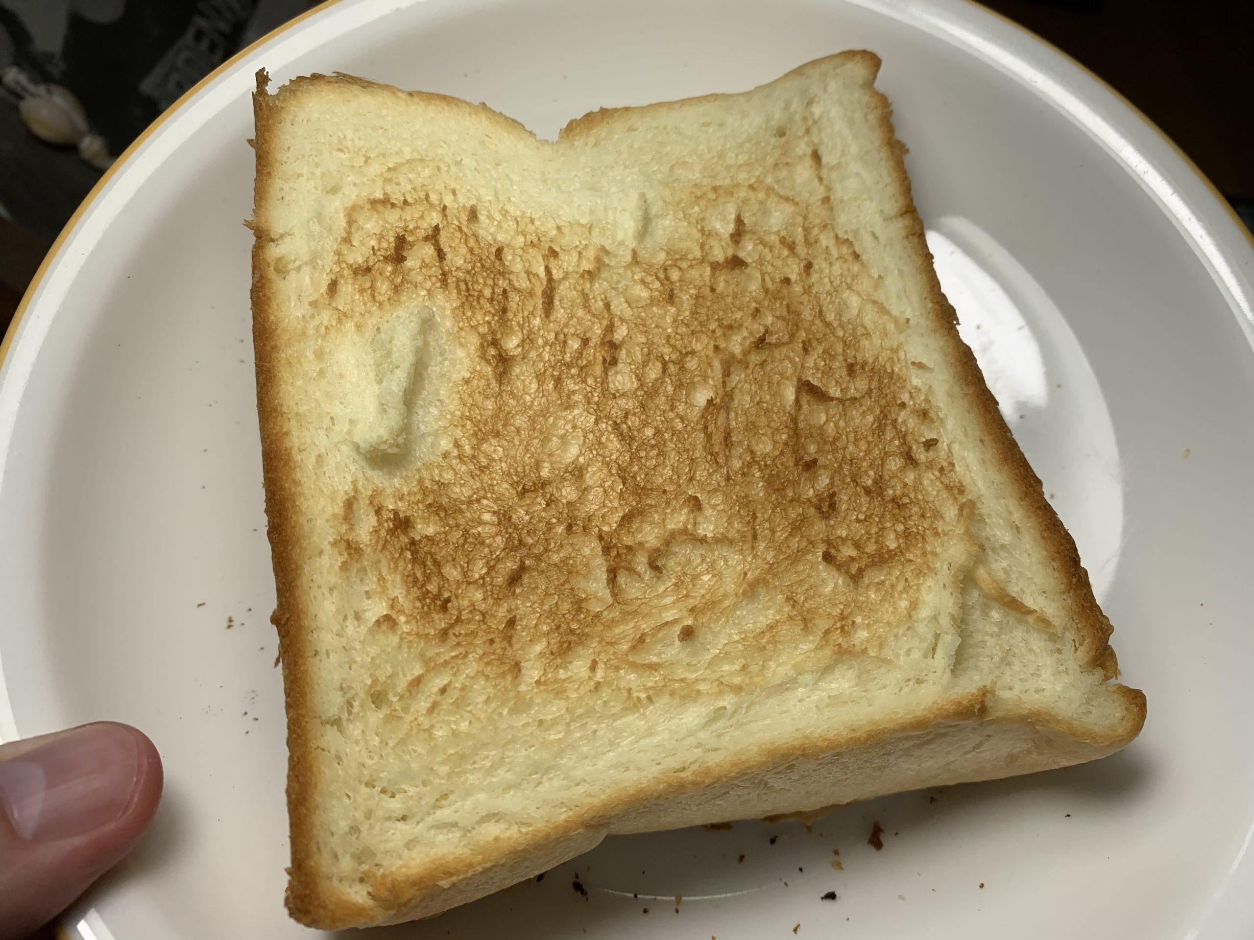 HAREPANの焼いた食パンの写真