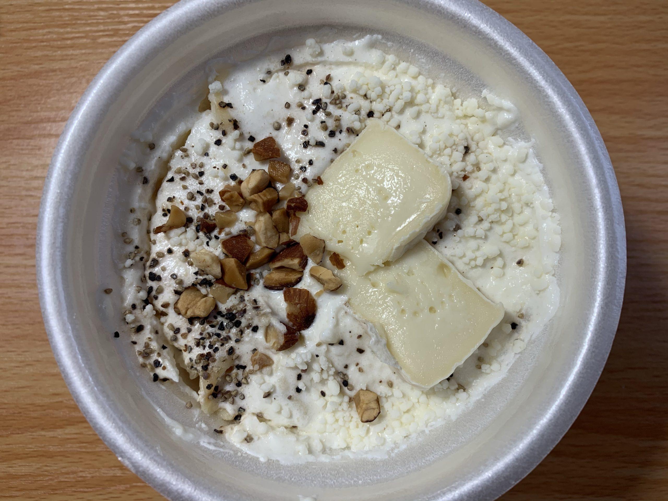 ショートパスタカマンベールチーズ&チーズクリーム