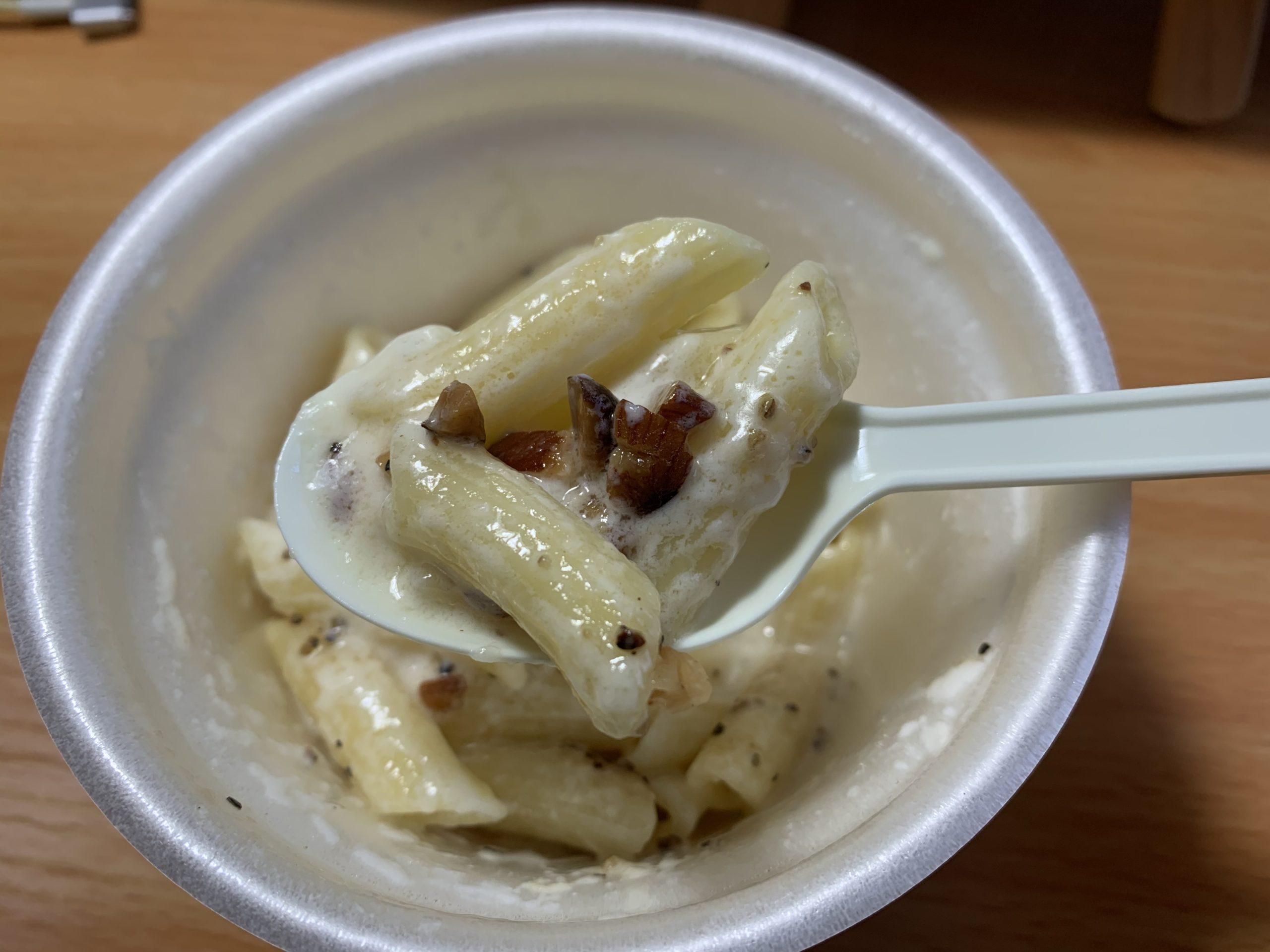 ショートパスタカマンベールチーズ&チーズクリームのペンネ