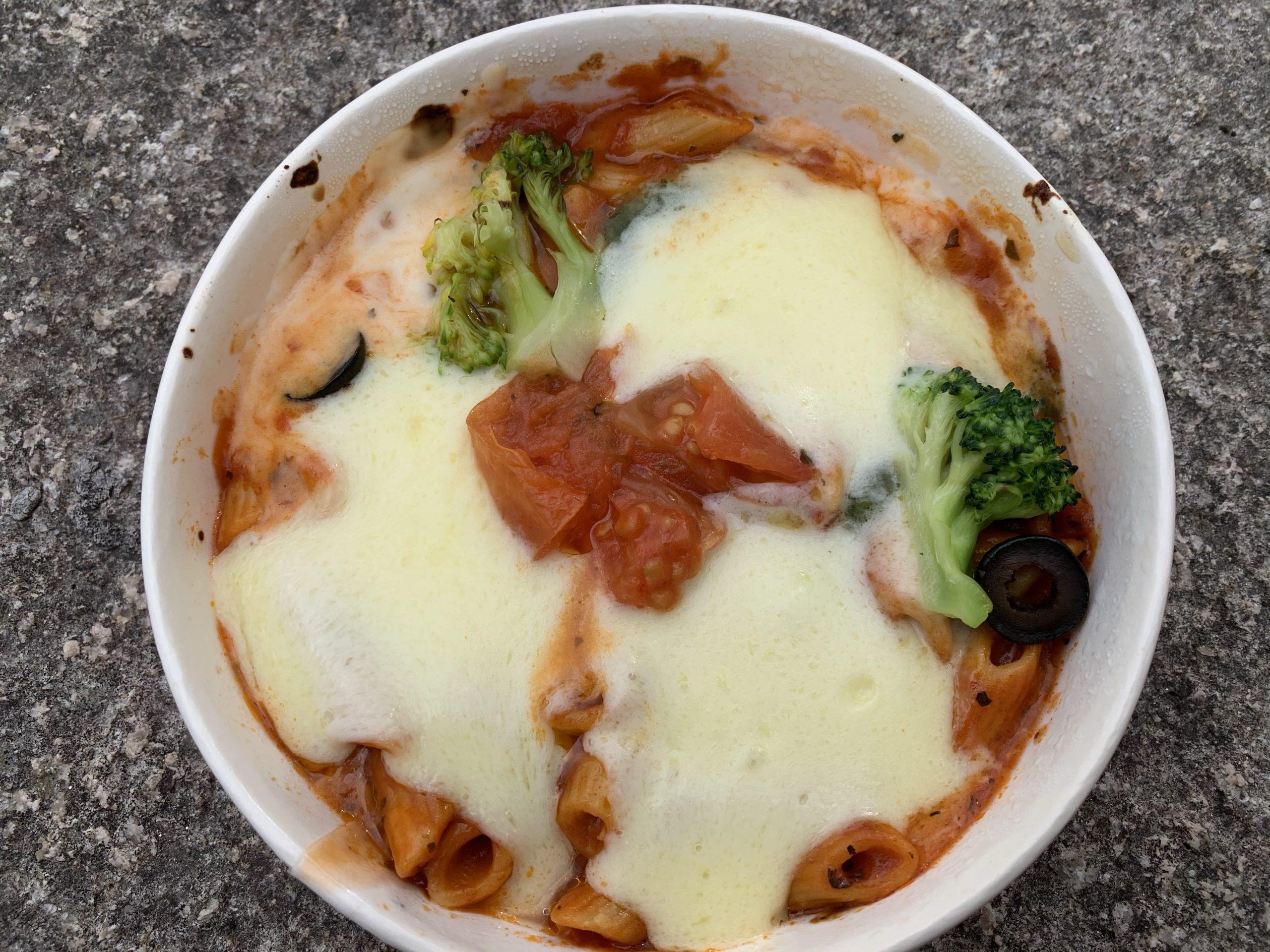 たっぷりチーズのマルゲリータ風グラタン