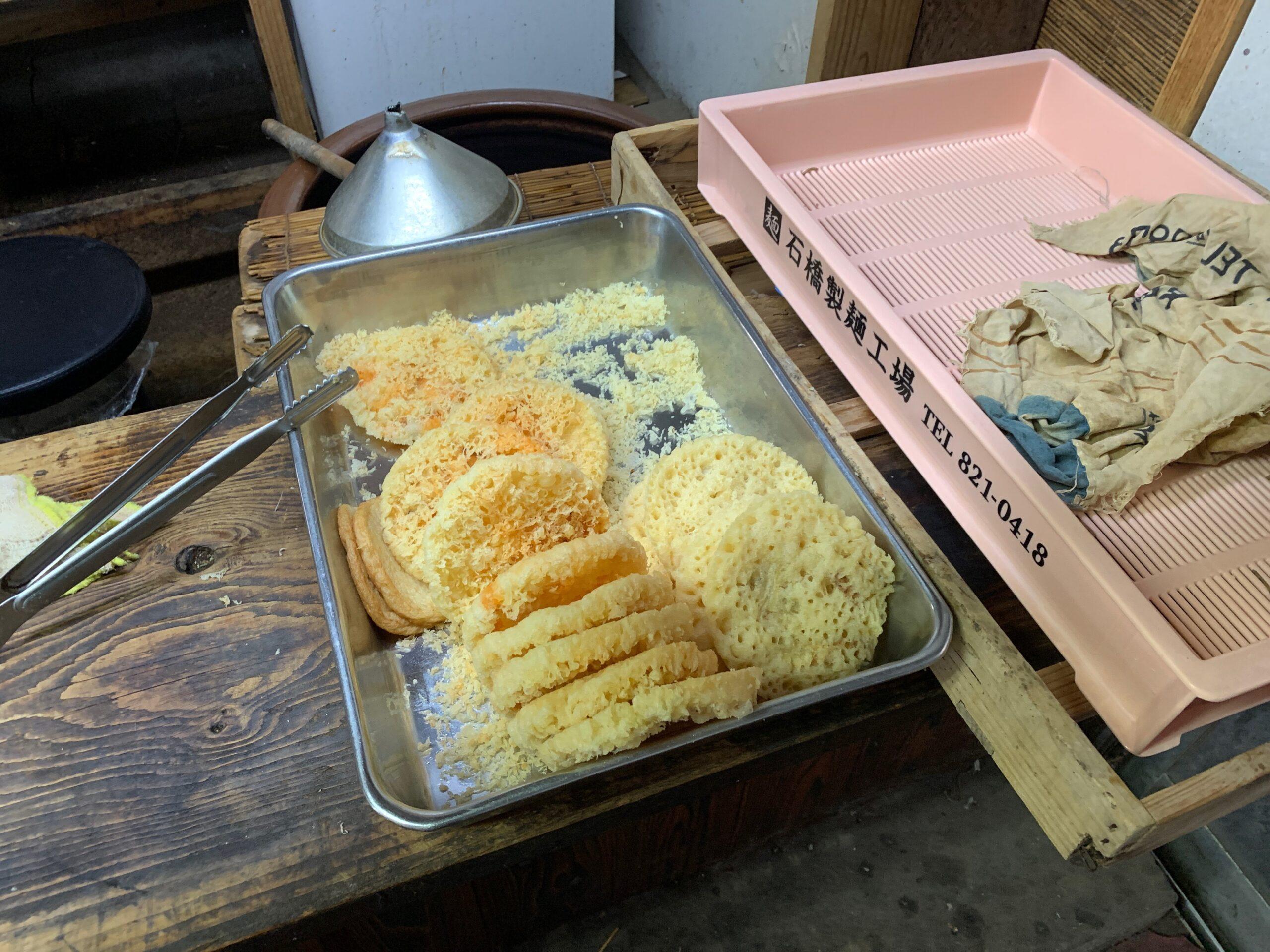 みやけうどんの天ぷら