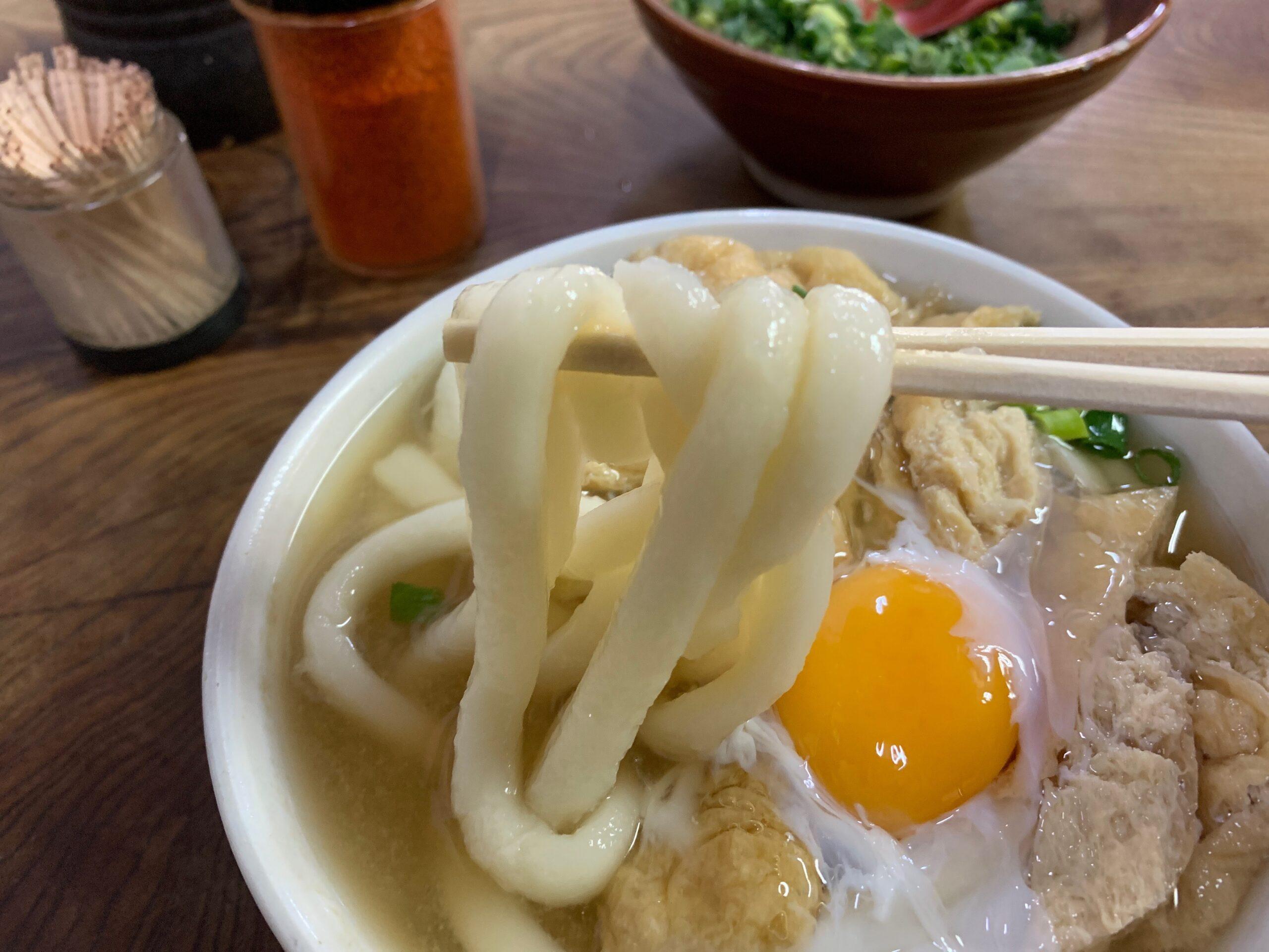 みやけうどんのうどん麺