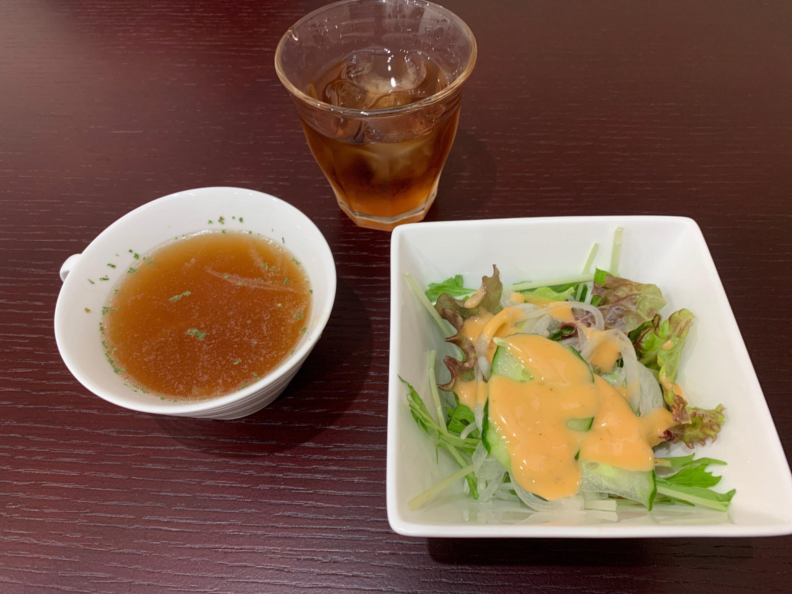 Thousand Kitchen愁月のサラダとスープ